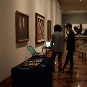 Registro del primer muestreo en Bellas Artes